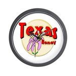 Texas Honey Wall Clock