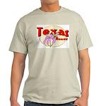 Texas Honey Ash Grey T-Shirt