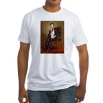 Lincoln/Poodle (W-Min) Fitted T-Shirt