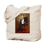 Lincoln/Poodle (W-Min) Tote Bag