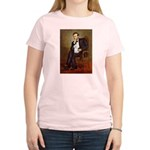 Lincoln/Poodle (W-Min) Women's Light T-Shirt