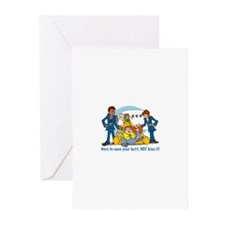 Cool Airline Greeting Cards (Pk of 10)
