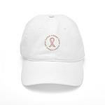 Pink Ribbon Breast Cancer Survivor Cap