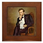 Lincoln/Poodle (W-Min) Framed Tile