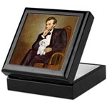 Lincoln/Poodle (W-Min) Keepsake Box