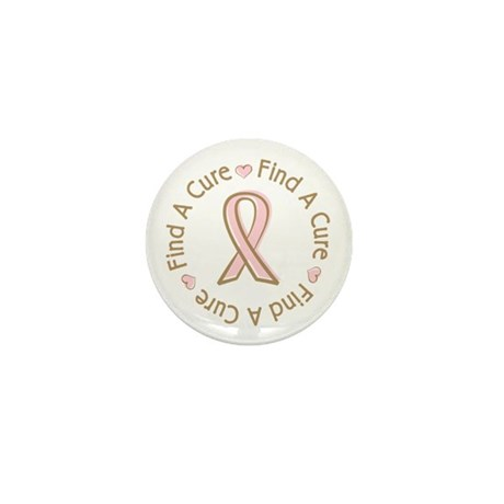 Breast Cancer Find a Cure Mini Button