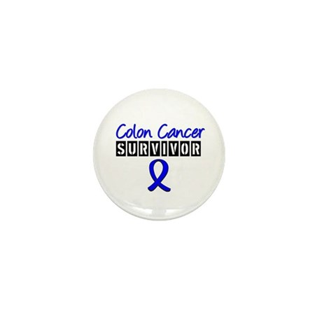Colon Cancer Mini Button (10 pack)