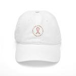 Peace Love Cure Breast Cancer Cap