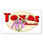Texas Honey Rectangle Sticker