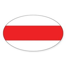BNR Flag Oval Sticker (10 pk)