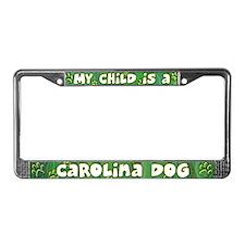 My Kid Carolina Dog License Plate Frame