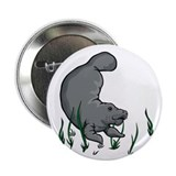 "Swimming Manatee 2.25"" Button (100 pack)"