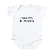 Marshal In Training Infant Bodysuit