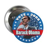 Presidential Material: Barack 2.25&amp;quot; Button (1