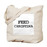 Feed Christina Tote Bag