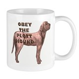 Obey the Plott Hound Small Mugs