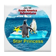 STAR Penguins S. America Logo- Tile Coaster