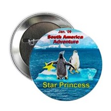 "STAR Penguins S. America Logo- 2.25"" Button"