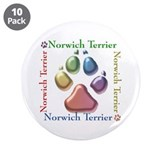 "Norwich Name2 3.5"" Button (10 pack)"