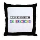 Locksmith In Training Throw Pillow