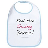 Real Men Swing Dance Bib