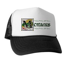 McManus Celtic Dragon Trucker Hat
