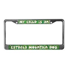 My Kid Estrela Mountain Dog License Plate Frame
