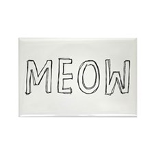 MEOW Rectangle Magnet