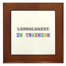 Limnologist In Training Framed Tile