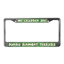 My Children Dandie Dinmont License Plate Frame