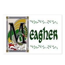 Meagher Celtic Dragon Postcards (Package of 8)