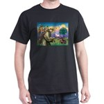 St Francis Doxie Dark T-Shirt