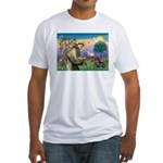 St Francis Doxie Fitted T-Shirt