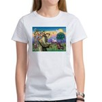 St Francis Doxie Women's T-Shirt