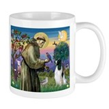 St Francis &amp; English Springer Mug