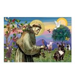 St. Francis Brindle Frenchie Postcards (Package of