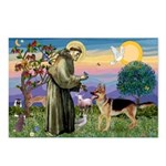 St Francis / G Shep Postcards (Package of 8)