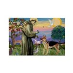 St Francis / G Shep Rectangle Magnet