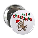 My First Christmas - Monkey 2.25