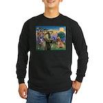 St Francis & Golden Long Sleeve Dark T-Shirt