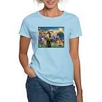 St Francis & Golden Women's Light T-Shirt