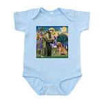 St Francis & Golden Infant Bodysuit