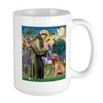 St Francis & Golden Large Mug