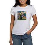 St Francis & Golden Women's T-Shirt