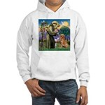 Saint Francis' Golden Hooded Sweatshirt