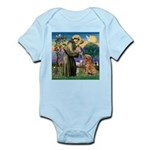Saint Francis' Golden Infant Bodysuit