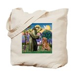 Saint Francis' Golden Tote Bag