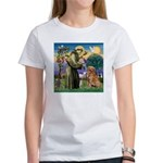 Saint Francis' Golden Women's T-Shirt