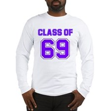 Groovy Class of 69 Long Sleeve T-Shirt