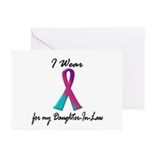 Thyroid Ribbon 1 (Daughter-In-Law) Greeting Cards
